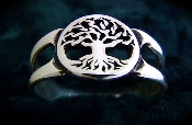 """Tree of Life Ring Large"""