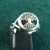 Tree of Life Ring, Domed