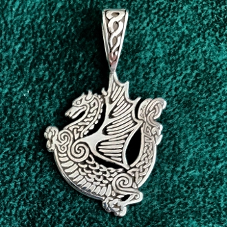 Celtic Dragon Medallion