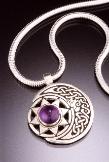 Moon Goddess & Sun Spirit with Amethyst