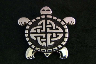 "Turtle ""First Nations Celtic Turtle"""