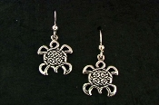 Circle of Life Turtle Earrings