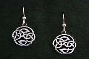 Pictish Knot Earrings