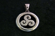 Triple Goddess Pendant, Small