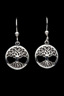 Tree of Life Earrings (domed)