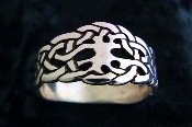 """Tree of life Ring Woven womens"""