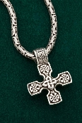 Equal Arms Cross Medallion