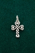 Shamrock Cross Charm