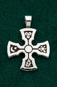 Four Elements Cross Medallion