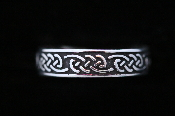"""Eternity knot band ring, womens"""