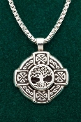 Wheel Tree of Life Cross