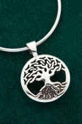Tree of Life Pendant - Domed