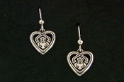 Claddagh in your Heart earrings