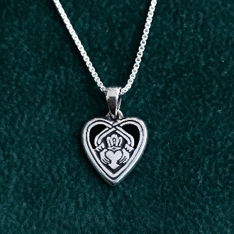 Claddagh in Your Heart - Charm
