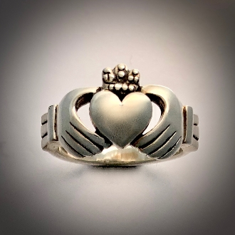 Irish Claddagh Ring, Heavyweight