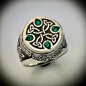 Celtic King's Signet Ring