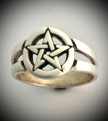 Pentacle ring of protection.