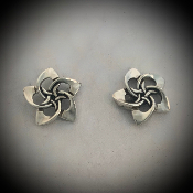 Plumeria Post Earrings