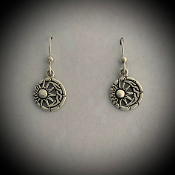 Celtic Moon & Sun Earrings